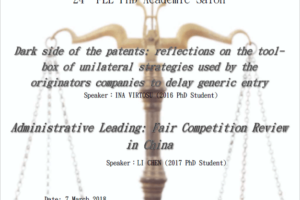 24th FLL PhD Academic Salon Report