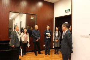 Delegation from China University of Political Science and Law visits the Faculty of Law