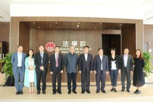 中國政法大學代表團訪問了澳門大學法學院