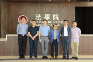 Shanghai International Intellectual Property Institute, Tongji University visits Faculty of Law