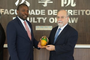 Prosecutions Office of São Tomé e Princípe visits the Faculty of Law