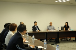Delegation from Peking University Law School visits the Faculty of Law