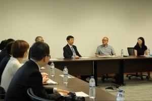 北京大學京法學院校友會代表團訪問了澳門大學法學院