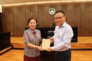 濟南市政協代表團訪問了澳門大學法學院