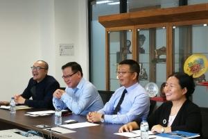 中國法學會案例法學研究會visits the Faculty of Law