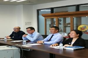 中國法學會案例法學研究會代表團訪問了澳門大學法學院