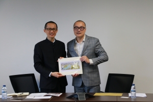 Hengqin Financial Services Bureau visits the Faculty of Law