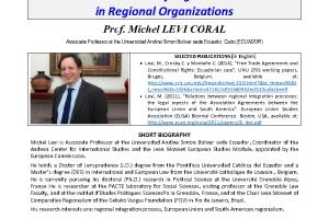 The Future of Legislation in Regional Organizations