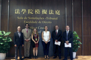 Instituto Rui Barbosa (Brazil) visits the Faculty of Law