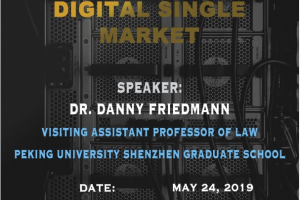 Jean Monnet Seminar: The Walled Gardens of Social Media in the Age of The Digital Single Market