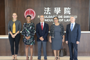 Education of Cape Verde visits the Faculty of Law