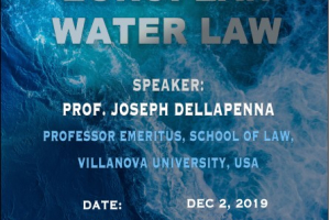 "Jean Monnet Seminar ""Integrating European Water Law"""