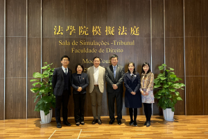 Beijing Jingsh Law Firm visits the Faculty of Law