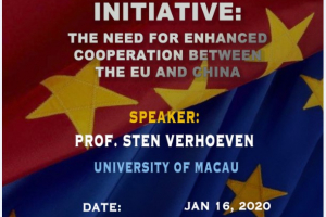 Obstacles of EU Law to The Belt and Road Initiative : The need for enhanced cooperation between the EU and China